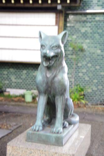 宮益御嶽神社狛犬